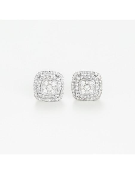 Bracelet Bangle Classy Or Blanc et Diamants 0,44cts