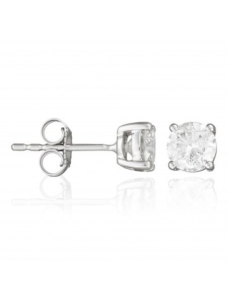 Bracelet Belle étoile Or Blanc et Diamants 0,06cts