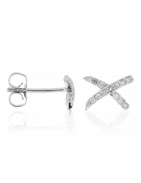 Bracelet Boule magic Or Blanc et Diamants 0,07ct