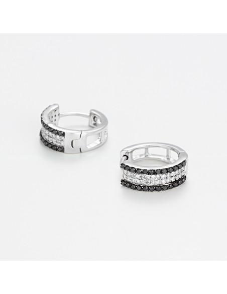Bracelet Colors Or Blanc et Topaze 1,75cts