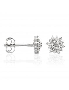 Bracelet Eternity Or Blanc et Diamants 0,14cts