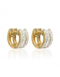 Collier Brillant d'amour Or Blanc et Diamants 0,33cts