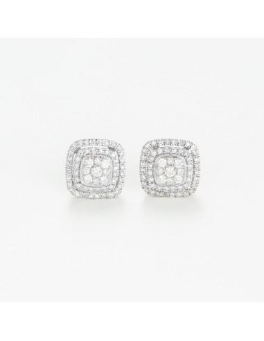Boucles d'oreilles Le Diamantaire
