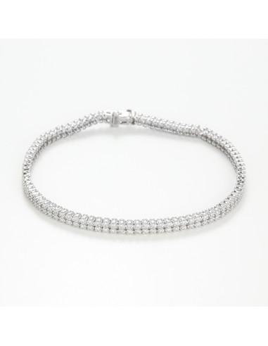 Bracelet Rivière diamants  Le Diamantaire
